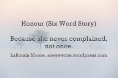 honour-six-word-story