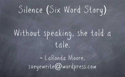 silence-six-word-story