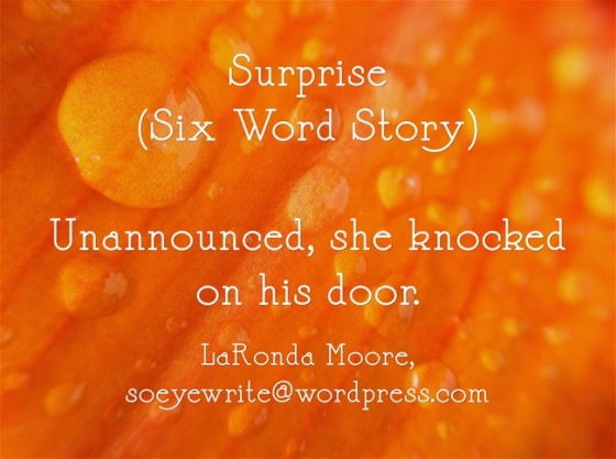 surprise-six-word-story